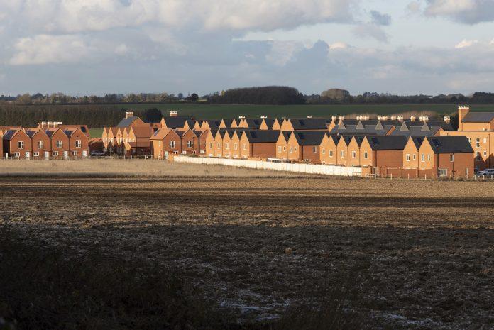 novas casas construídas