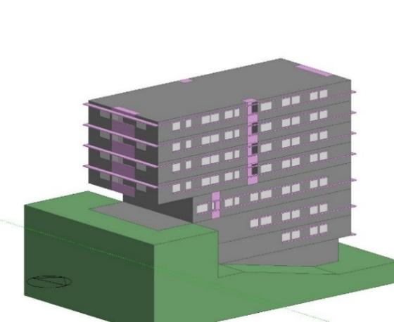 edifícios multifamiliares